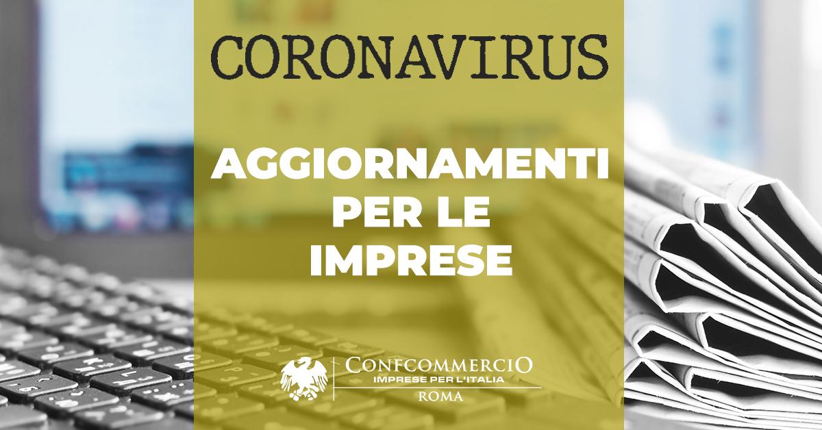 Emergenza Coronavirus 229 - Riapertura delle attività economiche e produttive: format cartelli per negozi