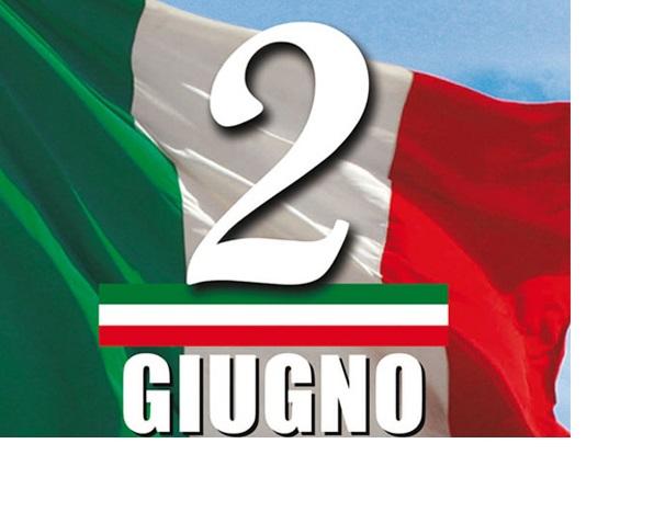2 GIUGNO 2020: FESTA DELLA REPUBBLICA ITALIANA